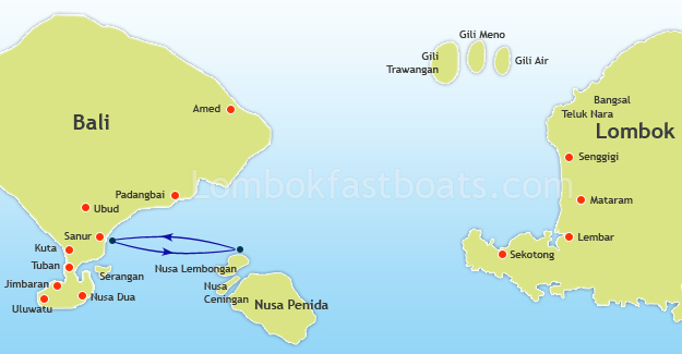 Rocky Fast Cruise Route Map